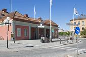 Järnvägsstation i Eskilstuna, Södermanland