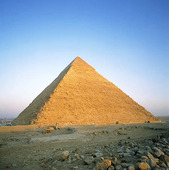 Cheops pyramid in Giza, Egypt