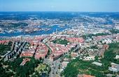 Aerial photo of Gothenburg