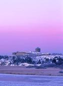 Bohus fästning på vintern, Bohuslän