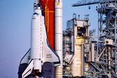 """Rymdfärja """"Discovery"""" KSC-NASA, USA"""