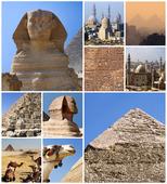 Egypten kollage
