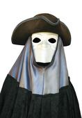 Karnival mask i Venedig, Italien