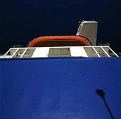 Livbåt på färja
