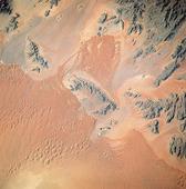Satellitbild, Namibiaöknen