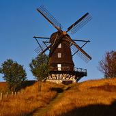 Väderkvarn i Skåne