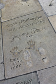 Gregory Peck, Hollywood boulevard