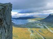 Utsikt från Skerfe, Lappland
