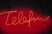 Telefon i neon