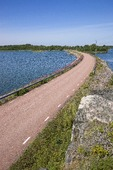 Landsväg vid vatten