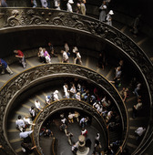 Spiraltrappa i Peterskyrkan, Italien