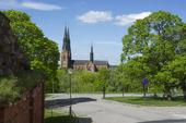 Uppsala domkyrka Uppland