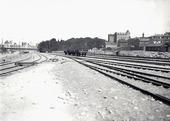 Bangården vid Stigbergskajen, Göteborg 1930