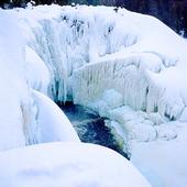 Fruset vattenfall