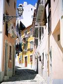 Gränd i Lissabon, Portugal