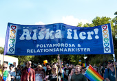 Demonstration, Älska fler! Stockholm Pride festival