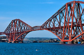 Järnvägsbro Firth of Forth, Skottland