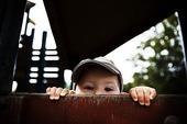 Barn som är nyfiken