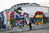 Graffiti Sluice, Stockholm