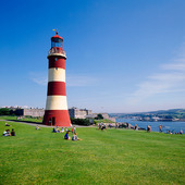 Plymouth fyr, Storbritannien