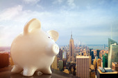Piggy Bank i New York