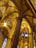 Catedral de Barcelona. Spanien