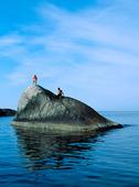 Par på klippö, Bohuslän