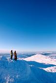 Skidåkare på Åreskutan, Jämtland