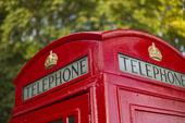 Telefonkiosk, Storbritannien