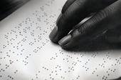 Punktskrift för blinda