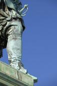 Detalj av staty Gustav 2:e Adolf, Göteborg