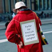 Demonstration mot främlingsfientlighet