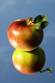 Äpple i spegelbild