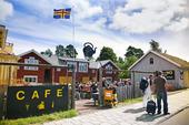 Cafe i Mariehamn, Åland Finland