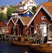 Sjöbodar i Kyrkesund, Bohuslän