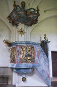 Interiör Husby-Sjuhundra kyrka, Uppland