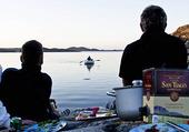 Sommarkväll vid havet