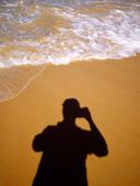 Fotograf på strand