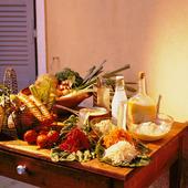 Råvaror vid matlagning