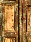 Dörr under renovering
