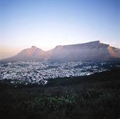 Kapstaden med Taffelberget, Sydafrika