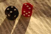 Tärningar på börsnoteringar