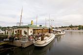 Restaurang Ångbåtsbryggan i Stockholm