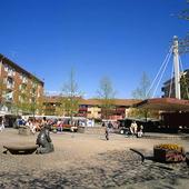 Mölndals Square, Västergötland