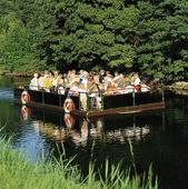 Turister i Slottsparken i Malmö, Skåne