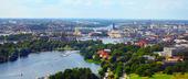 Vy över Stockholm City