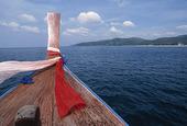 Fören på båt, Thailand