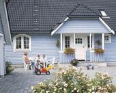 Blå villa