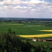 Utsikt från Ålleberg, Västergötland