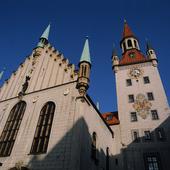 Gamla Rådhuset i München, Tyskland